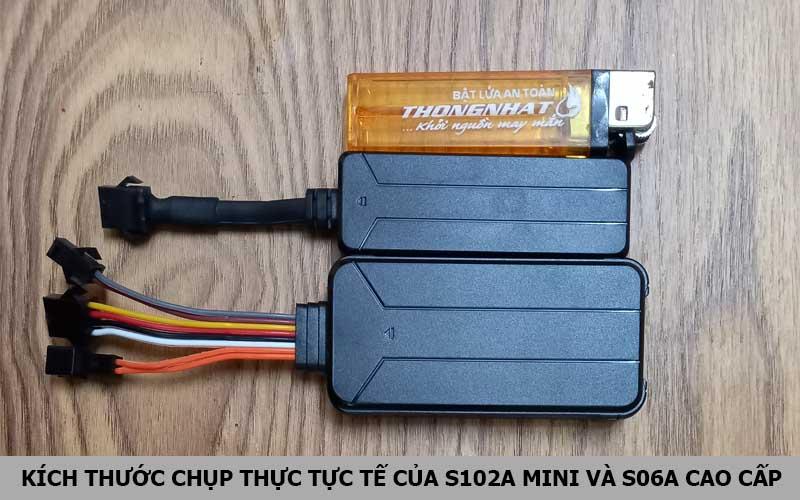 Thiết bị định vị S102A mini và S06A cao cấp